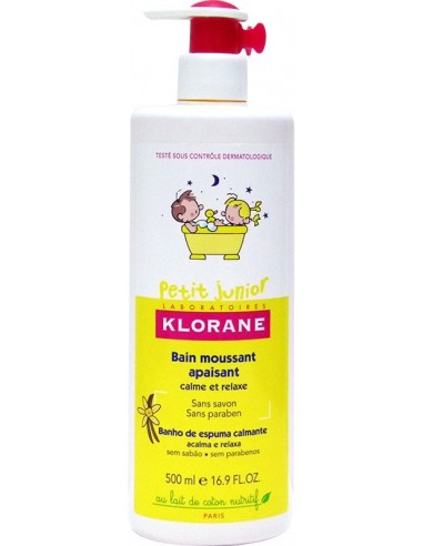 Klorane Petit Junior Bain Moussant Apaisant Calm et Relaxe 500ml