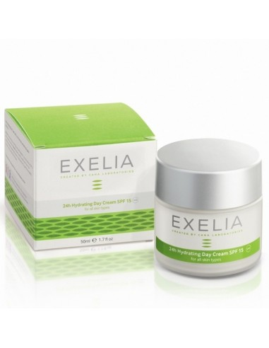 EXELIA 24h Hydrating Day Cream SPF 15 for Normal & Dry Skin 50ml