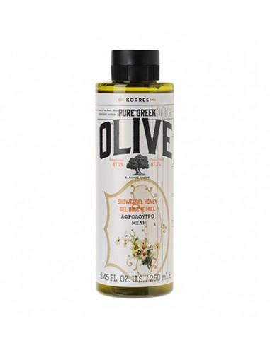 KORRES Pure Greek Olive Showergel Verbena - Αφρόλουτρο Λουiζα 250ml
