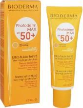 BIODERMA PHOTODERM MAX ULTRA-FLUIDE, TEINTE CLAIRE SPF 50+ 40ml