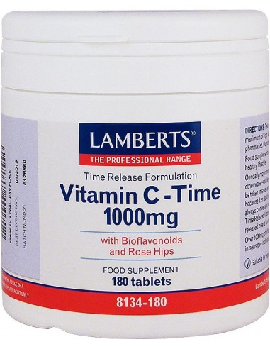 LAMBERTS Vitamin C-Time 1000mg 180 Tabs