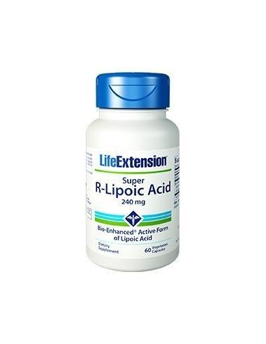LIFE EXTENSION Super R-Lipoic Acid 240mg 60 Veg.Caps
