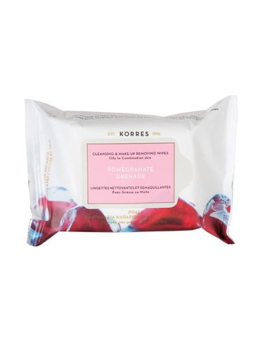 KORRES POMEGRANATE CLEANSING WIPES 25 pics