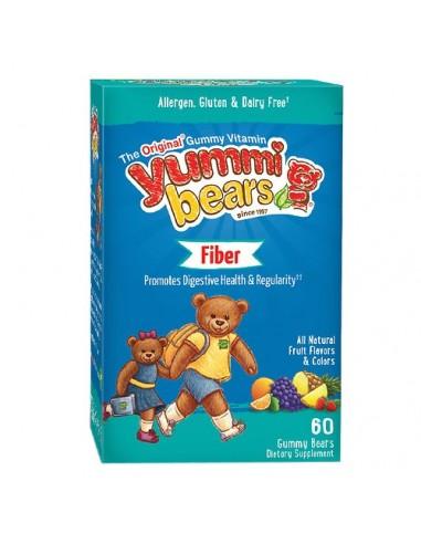 HERO YUMMI BEARS FIber 60 gummie bears