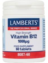 LAMBERTS Vitamin Vitamin B12 1000μg 60 Tabs