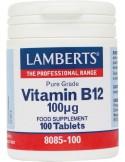 LAMBERTS B-12 100μg 100tabs