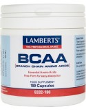 LAMBERTS BCAA-Branch Chain Amino Acids 180 Caps