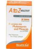 HEALTH AID Α to Ζ MULTIVIT 30 tabs