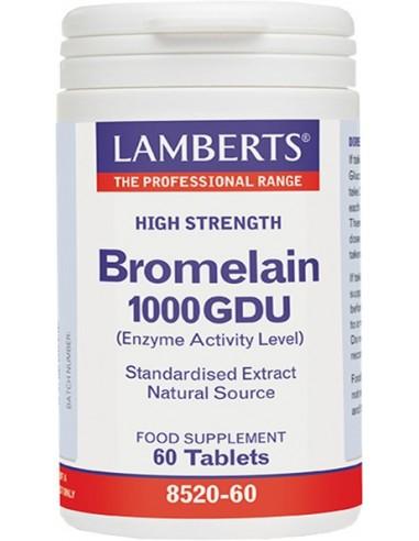 LAMBERTS Bromelain 400mg 60 caps