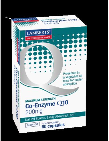 LAMBERTS Co-Enzyme Q10 200mg 60 caps - NEW
