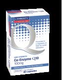 LAMBERTS Co-enzyme Q10 100mg 60 caps