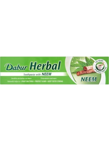 DABUR Herbal Toothpaste with Neem 100ml