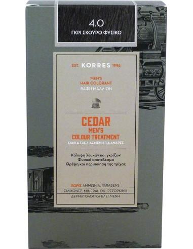 KORRES Cedar Men's Colour Treatment 4.0