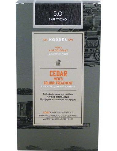 KORRES Cedar Men's Colour Treatment 5.0
