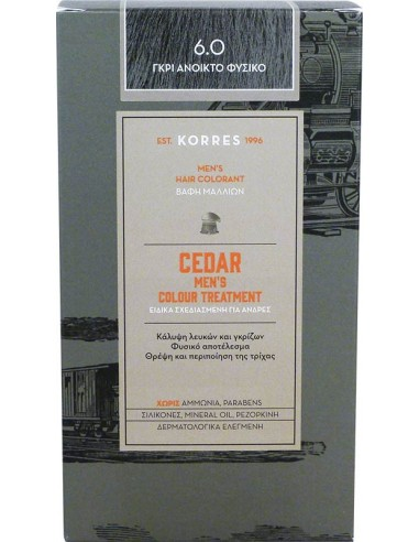 KORRES Cedar Men's Colour Treatment 6.0