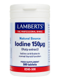 LAMBERTS Iodine 150mcg 500 Tabs