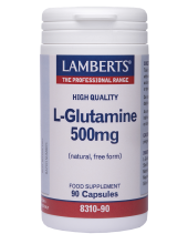 LAMBERTS L-Glutamine 500mg 90 caps