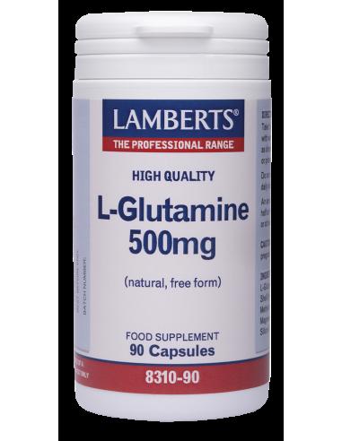 LAMBERTS L-Glutamine 500mg 90 caps