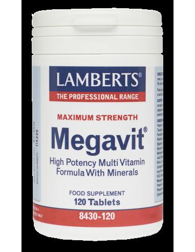 LAMBERTS Megavit Multivitamin 120 Tabs