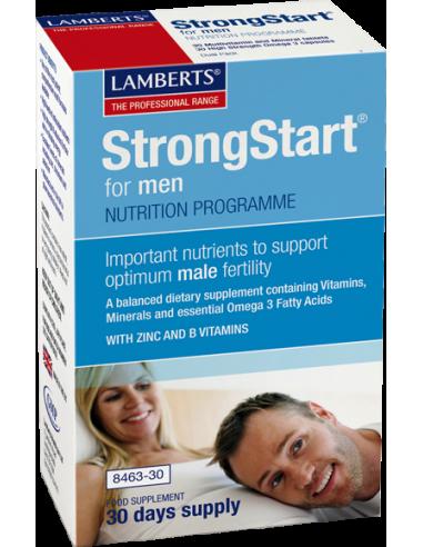 LAMBERTS Strongstart for Men 30 caps