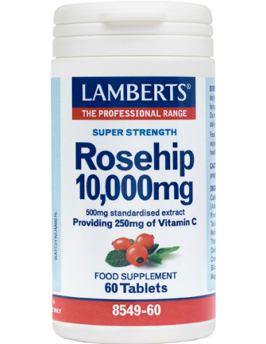 LAMBERTS Rose Hip 10.000mg 60 Tabs