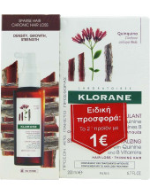 KLORANE Chute Chronique Serum 100ml & Shampoo with Quinine 200ml