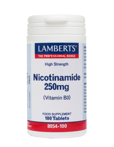 LAMBERTS Nicotinamide 250mg (B3) 100 tabs