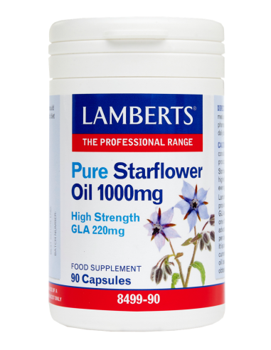 LAMBERTS Pure Starflower Oil 1000mg 9????