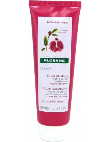 KLORANE Color Enhancing Leave-in with Pomegranate Color Treated Hair 125ml