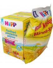 HIPP ΠΑΙΔΙΚΑ ΜΠΙΣΚΟΤΑ μήλου από τον 12ο μήνα 2x150gr + ΔΩΡΟ Παιδικά γαριδάκια 30gr