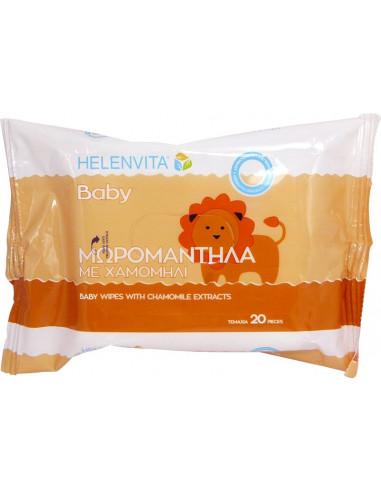 HELENVITA Baby Μωρομάντηλα 20τεμ