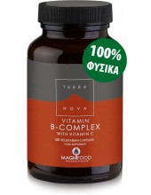 TERRANOVA B-Complex with Vitamin C 100 veg. Caps