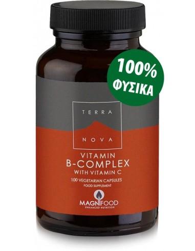 TERRANOVA B-Complex with Vitamin C 100 veg. Caps