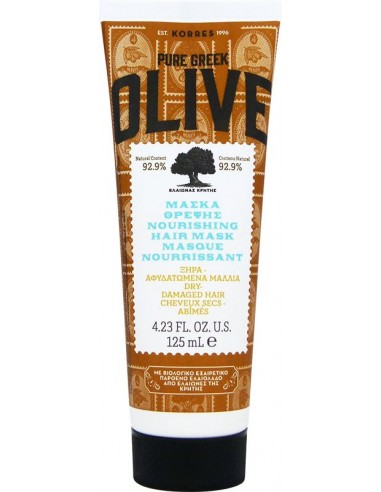 KORRES Pure Greek Olive Nourishing Hair Mask 125ml