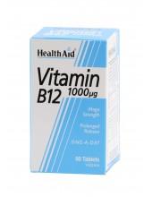 HEALTH AID Vitamin B12 1000£g 50 tabs