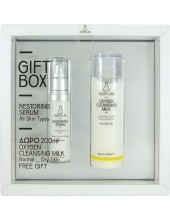 YOUTH LAB GIFT BOX Restoring Serum All Skin Types 30 ml & ΔΩΡΟ Oxygen Cleansing Milk 200ml