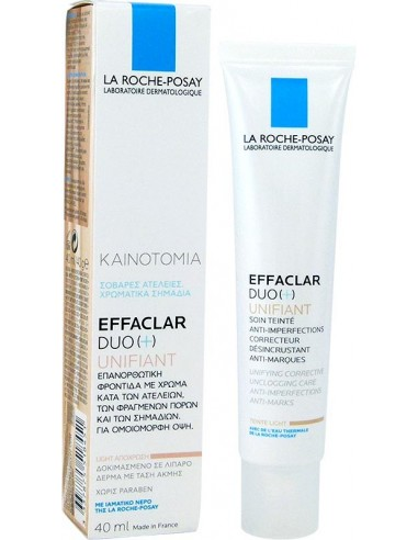 LA ROCHE-POSAY Effaclar Duo (+) Unifiant Light 40ml