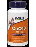 NOW CoQ10 200mg 60 Veg.Caps