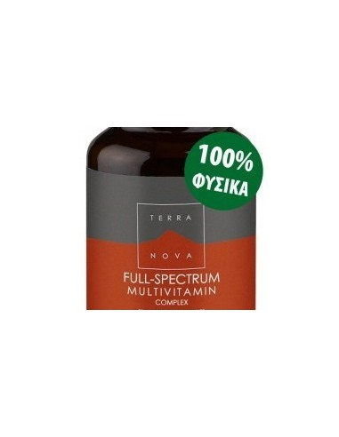 TERRANOVA Full-Spectrum Multivitamins Complex 100 veg. Caps