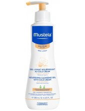 MUSTELA NourIshing Cleans Gel + Cold Cream 300ml