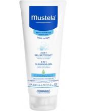 MUSTELA 2in1 Cleansing Gel 200ml