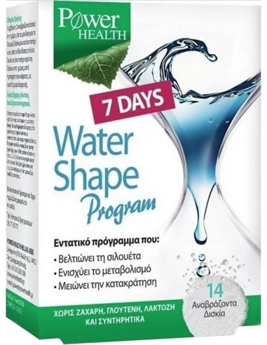 POWER HEALTH Water Shape 7 Days Program 14 αναβράζοντα δισκία