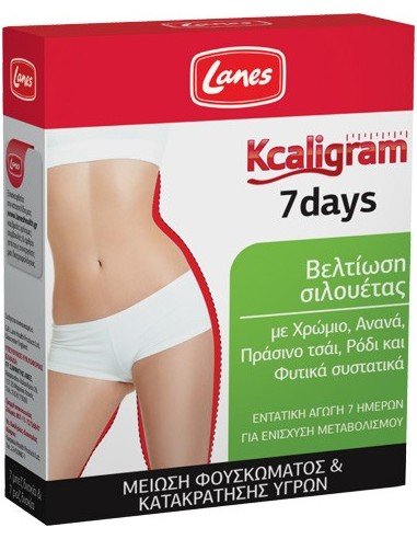 LANES Kcaligram 7 days 14 tabs