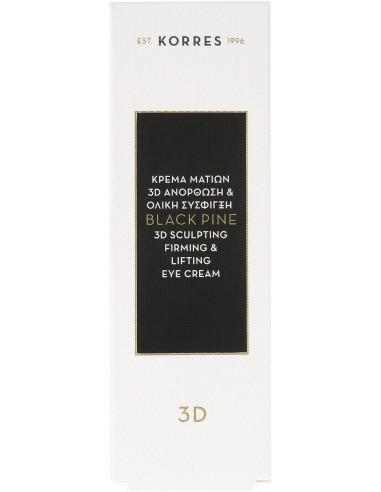 KORRES Black Pine 3D Sculpting, Firming & Lifting Eye Cream 15ml