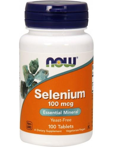 NOW Selenium 100mcg 100tabs