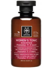 APIVITA WOMEN'S TONIC Shampoo Hippophae TC & Laurel 250ml