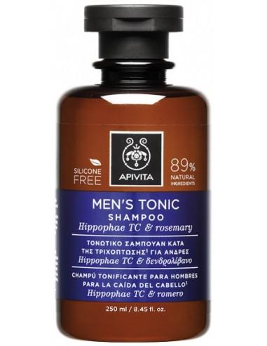 APIVITA HOLISTIC HAIR CARE MEN'S TONIC Shampoo Hippophae TC & Rosemary 250ml