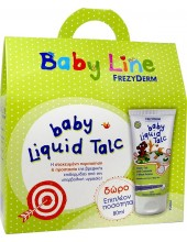 FREZYDERM Baby Line Σετ Liquid Talc 150ml