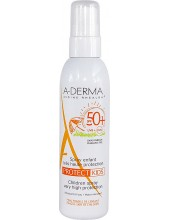 A-DERMA PROTECT Protect Kids Spray Enfants Tres Haute Protection SPF 50+ 200ml
