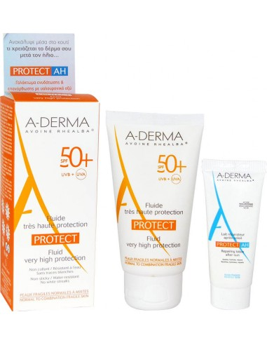 A-DERMA PROTECT Fluide Tres Haute Protection SPF 50+ 40ml